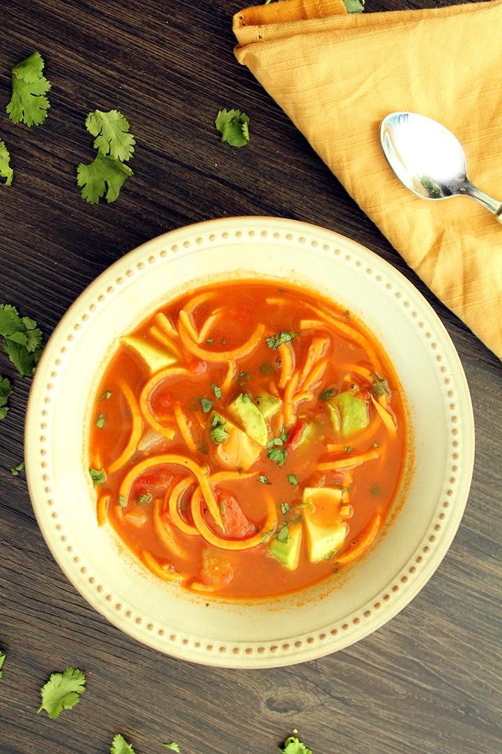 Paleo Vermicelli Soup
