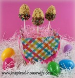 Gluten Free Easter Egg Pops Rice Crispy Treats