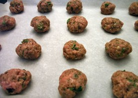 Homemade Turkey Italian Meatballs