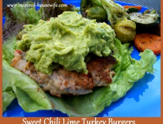 Sweet Chili Lime Turkey Burgers