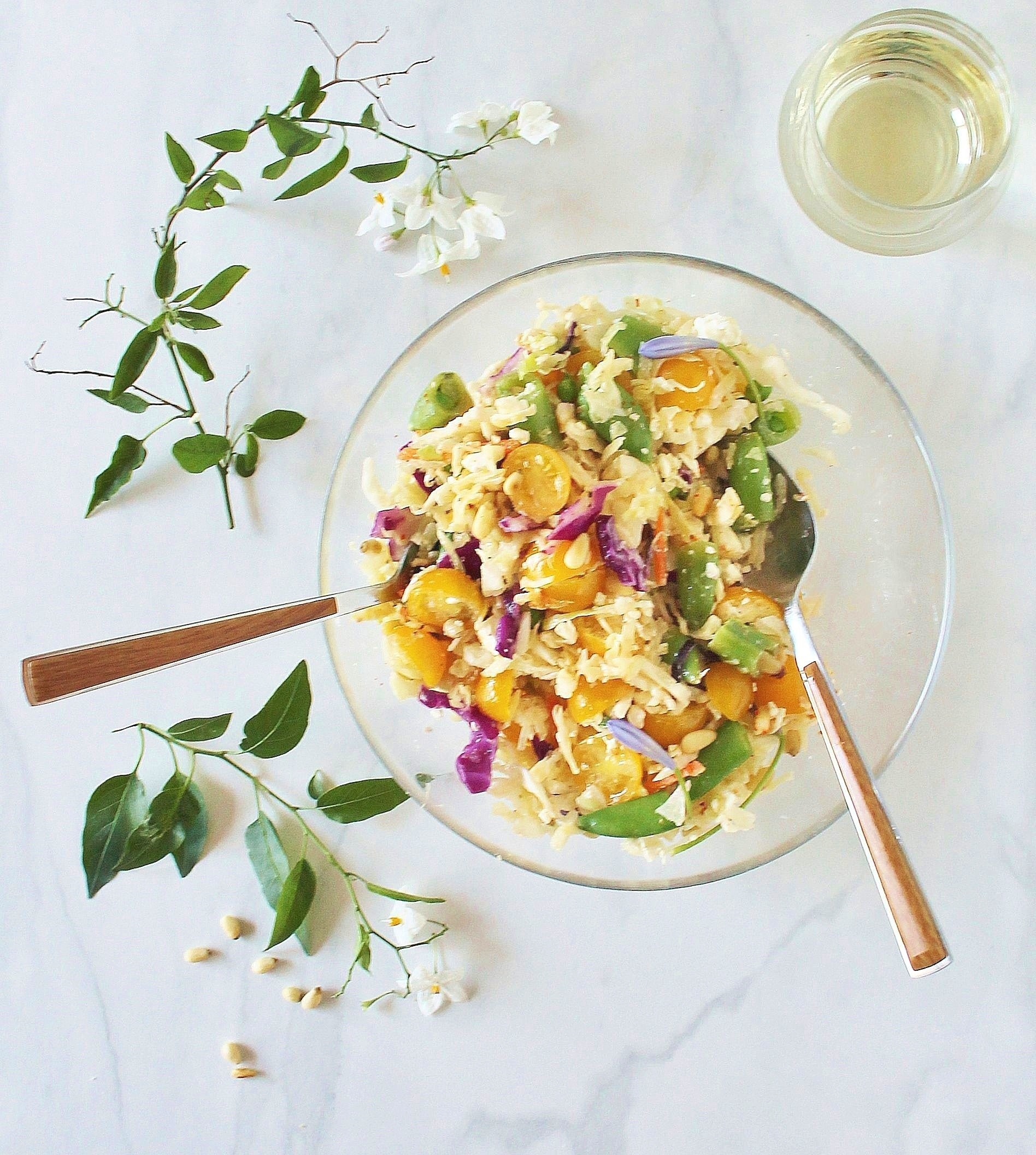 Tangy Summer Slaw with Chile-Lime Dressing