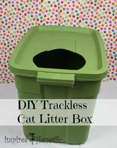 DIY Low Track Cat Litter Box
