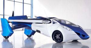 flying cars, like AeroMobil