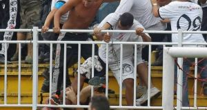 Brazil League Soccer Match