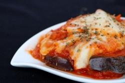 Small Of Keto Eggplant Parmesan