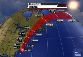 U.S. Government to Repay States for losses from Hurricane Irene