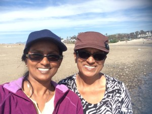 Margaret Cornelius, intrepid vegan M.D. who reversed all her lifestyle risk factors (right), and Marilyn Cornelius, Ph.D., who went vegan to reduce her climate change impact.