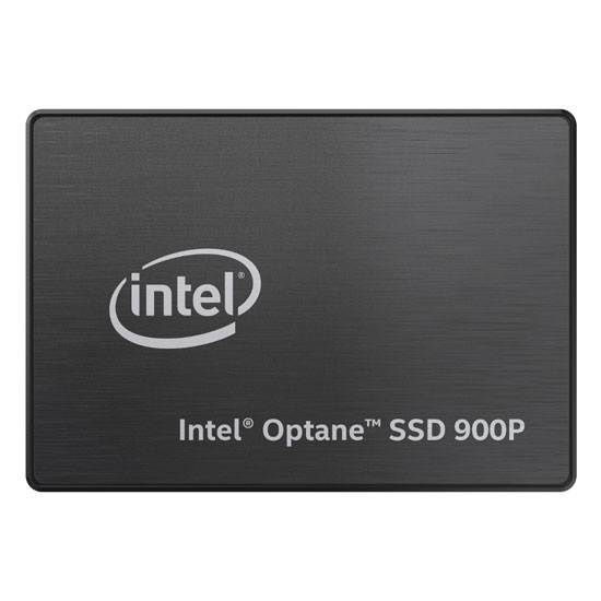 Intel     Optane       SSD 900P Series  280GB  2 5in PCIe x4  20nm  3D     900P front flat