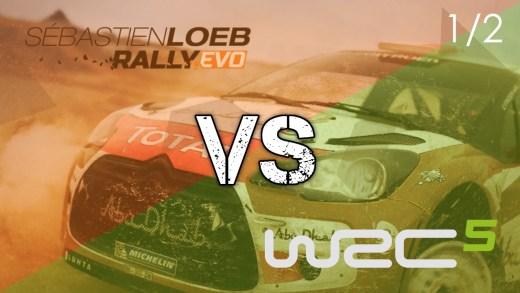 Sébastien Loeb Rally Evo vs WRC 5 - 1-2