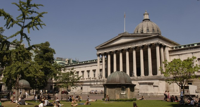 UCL's Quadrangle, the site of SG2013 10th Anniversary Party