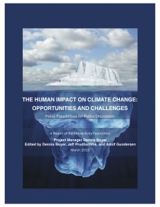 Human impact on Climate picture