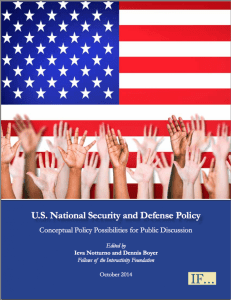 National Security Cover