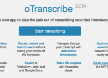 Interview with Elliot Bentley, creator of oTranscribe