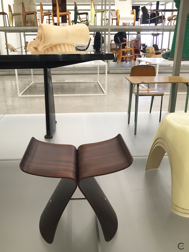 The collection | Vitra | new Shaudepot | Herzog & de Meuron | Vitra Museum | Design Furniture | Key History design pieces | © by C-More