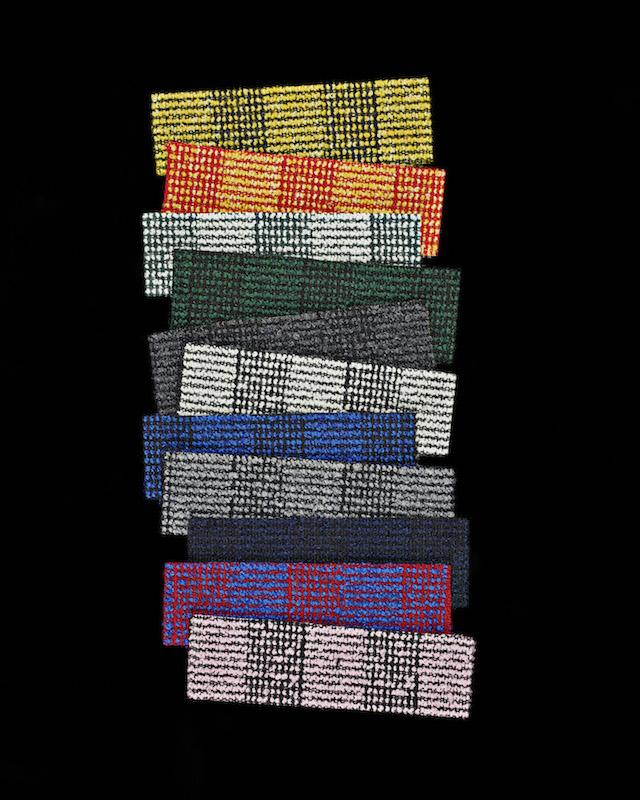Raf Simons   Kvadrat   Reflex Pulsar Fuse textile collection