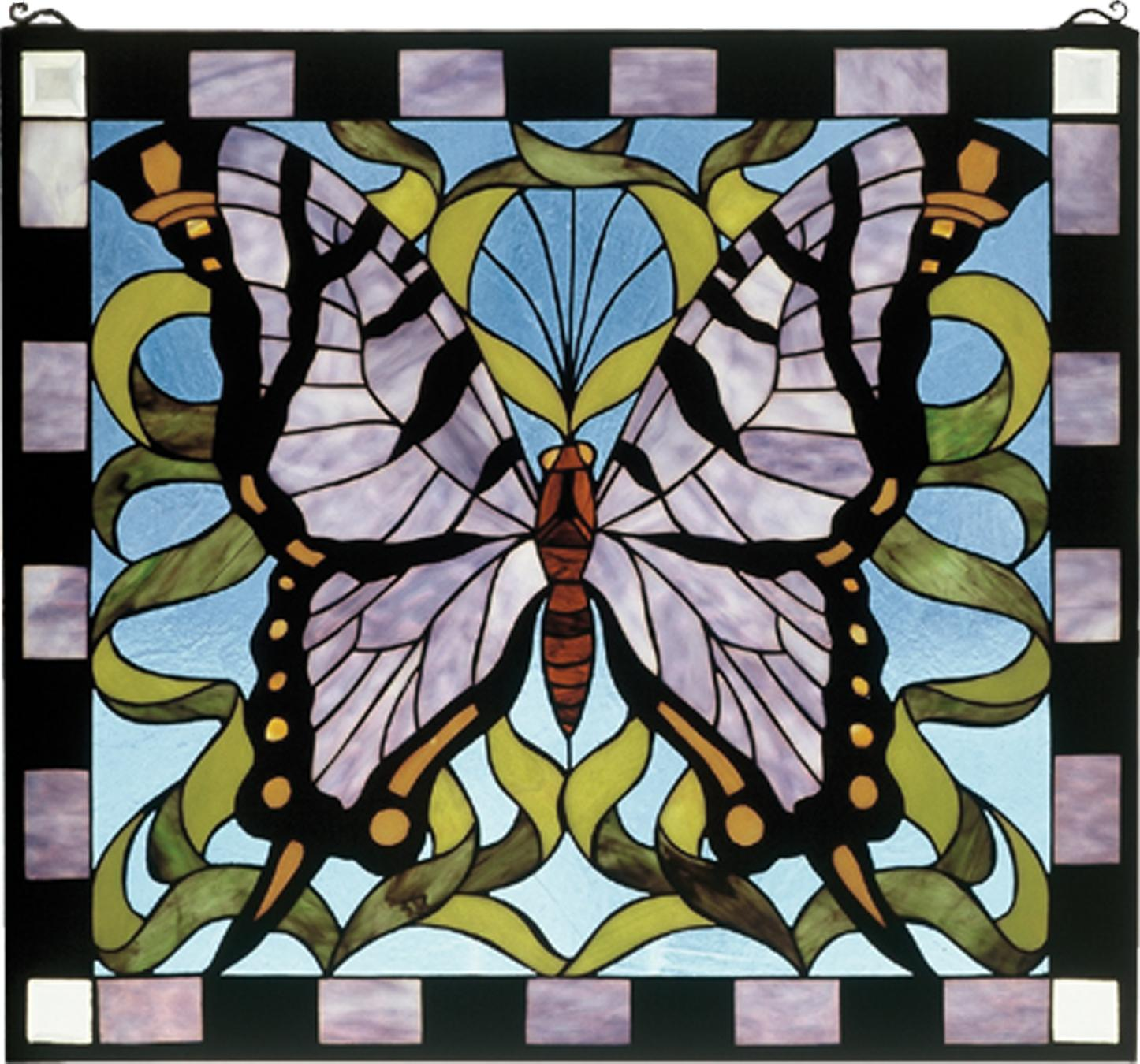 Supreme Butterfly Stained Glass Window Butterfly Stained Glass Window Meyda Tiffany Interiordecorating Stained Glass Butterfly Suncatcher Stained Glass Butterfly Pattern Easy houzz-03 Stained Glass Butterfly