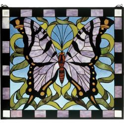 Small Crop Of Stained Glass Butterfly