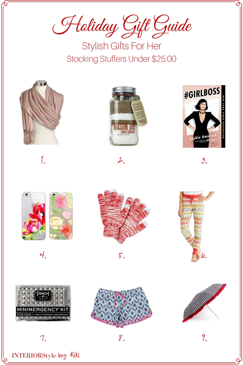 2015 Holiday Gift Guide Stylish Stocking Stuffers Under