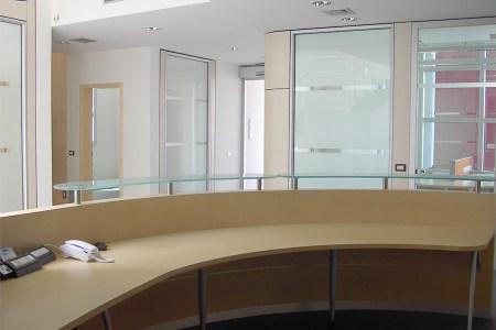 reception pareti divisorie