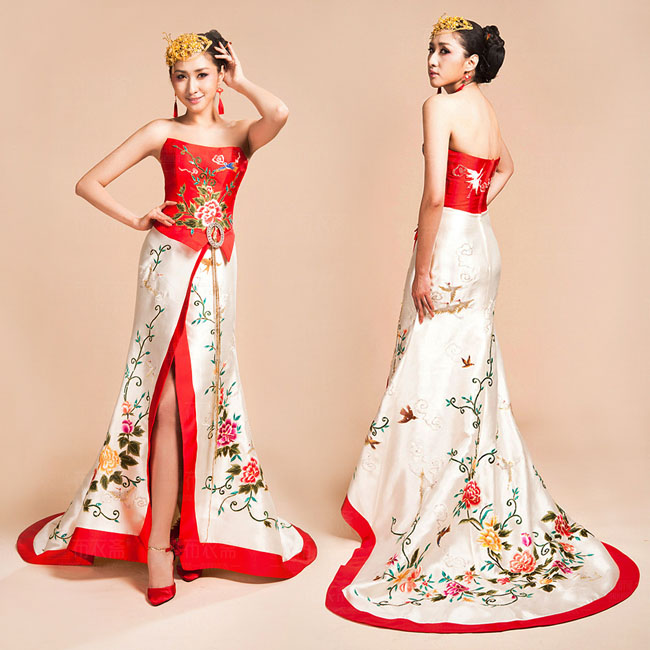 Asian-inspired-mandarin-red-Chinese-dress  (13)