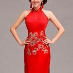 Asian-inspired-mandarin-red-Chinese-dress  (2)