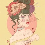 Tattoo inspired art by Liz Clements (4)