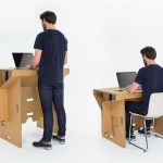 Refold. Cardboard Desk