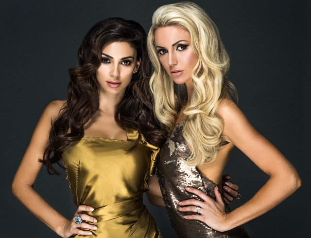 """Georgia and Rosanna start a Gold Rush as they go Global with Gold Fever Georgia Salpa and Rosanna Davison pictured as they front the global campaign to launch Gold Fever Hair Extensions, the very latest in pure luxury from the Gold family. Widely acclaimed as the original creators of hair extensions 25 years ago, the Gold family has supplied premium ethically sourced hair to celebrities and stars all over the world including Whitney Houston, Lisa Marie Presley and many more. """"I love Gold Fever hair so much."""" said Georgia Salpa. """"They are so natural looking and no one thinks I'm wearing extensions. Every time I style my hair it look amazing"""" Georgia Salpa and Rosanna Davison recently jetted out to Rome to shoot the stunning global campaign for Gold Fever which is now being rolled out across Ireland, the UK and the US. """"I'm so happy with my Gold Fever extensions, they are the silkiest extensions I have ever worn and couldn't be easier to wash, blow dry and style"""" said Rosanna Davison. Irish fashionistas have been quick to join the Gold rush and glitterati. Some clients include: Roz Purcell, Holly Carpenter, footballer Stephanie Roche, Sinead Duffy, Emma O'Driscoll, Nikki Hayes, Roz Lipset, Danielle Lloyd, Nicola Hughes, Suzanne Jackson, Rebecca Maguire, Tiffany Stanley, Nikki Kavanagh, Bewitched Star Sinead O'Carroll, RTE Blathnaid Tracey, Sara Kavanagh, Celtic Women Star Chloe Agnew, Celia Holman Lee and TV Presenter Lisa Cannon to name but a few. The ladies are already flicking their magnificent manes of Gold Fever hair extensions before the product officially hits the salons in March. PHOTOGRAPHER:Nima Binati No Repro fee for one use for more info contact Valerie Roe: 086 2417094 The reason for this veritable Gold rush and excitement amongst hair extension devotees is that Gold Fever is completely unique in the industry. It is the only company in the world that has full ownership of its own supply chain, from sourcing to processing and deli"""