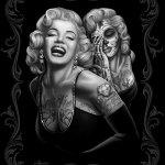 Marilyn Monroe Tattoo Art