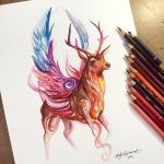 Pencil_Marker_Animal_illustrations_By_Katy_Lipscomb (14)