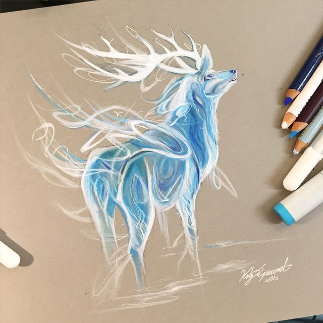 Pencil_Marker_Animal_illustrations_By_Katy_Lipscomb (8)