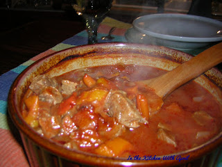 Cold weather is a great time for a good Turkish Beef Stew aka Yahni!