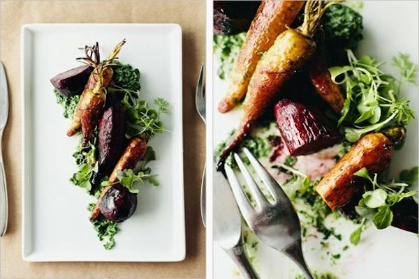 Những loại rau tươi ngon được trồng tại chính nông trại luôn được đánh giá cao trong bữa tiệc.