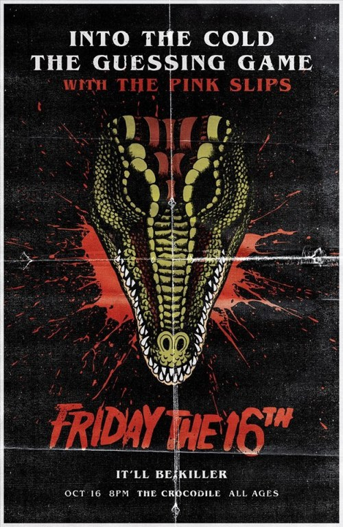 Into The Cold - Friday October 16th at the Crocodile