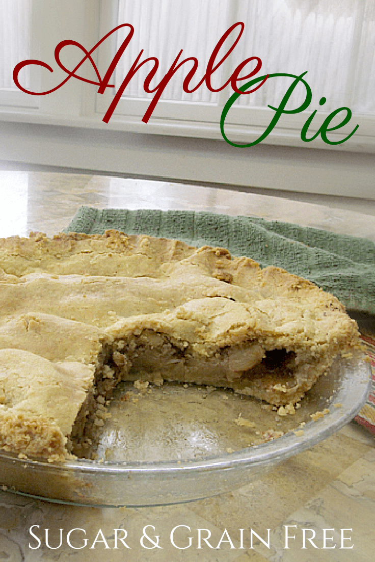 Not Your Grandma's Apple Pie: Sugar-Free & Grain-Free Recipe