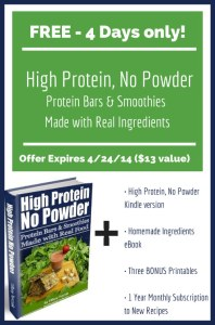 High Protein, No Powder- FREE 4 Days ONLY