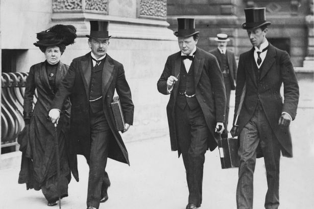 Lloyd George and winston on urgent business