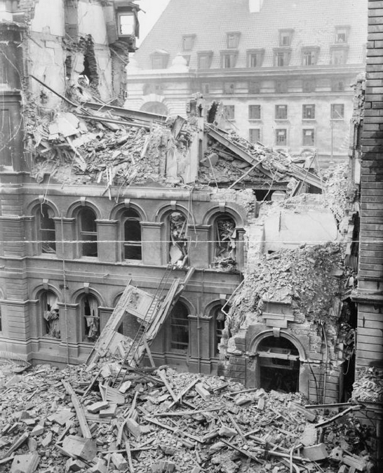 Mapping the London Blitz