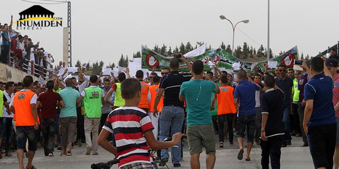 مسيرة : لا لمصنع الإسمنت