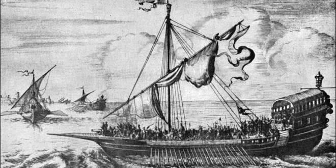 سفينة حربية بربرية