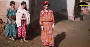 صورة من قرية قبائلية أثناء فترة الإستعمار