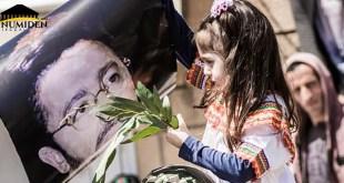 صورة من مسيرات الربيع الأمازيغي بمنطقة القبائل