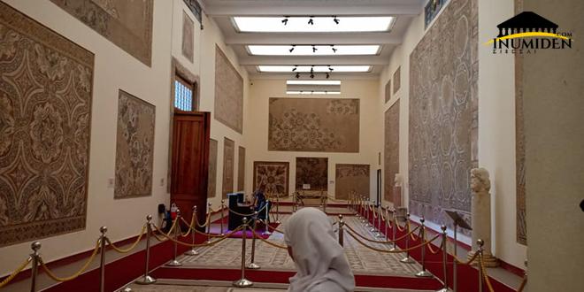 يُعتبر متحف تيمقاد من أكبر  المتاحف التي تحوي للفسيفساء في العالم