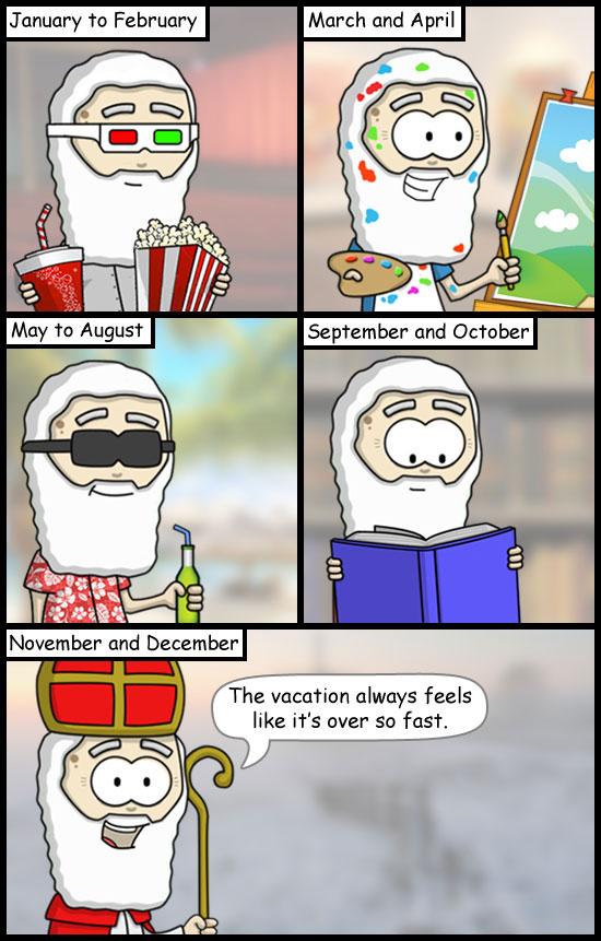 Sinterklaas Holiday