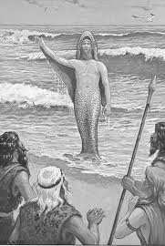 dioses pisciformes 1 - Apkallus o Anunnakis los antiguos dioses sumerios