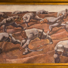 Albin Egger-Lienz, Die Namenlosen (the Nameless), Vienna,, Heeresgeschichtliches Museum), 1916, Tempera on linen, 245 × 476 cm - Bull market