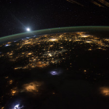 NASA astronaut Scott Kelly took this photograph of a sunrise over the western united states - 401(k) assets