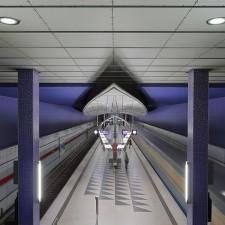 Munich subway station Hasenbergl - Retirement Mistake
