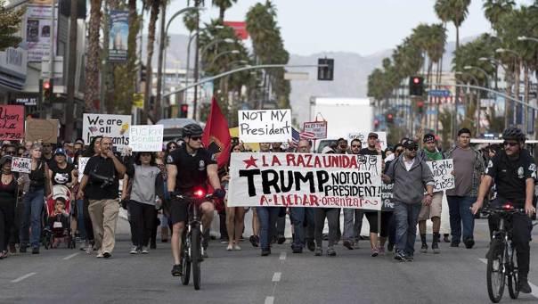 Outside California, Hillary Clinton lost the popular vote by 1.4 million to Donald Trump. (ZUMAPRESS.com/Newscom)