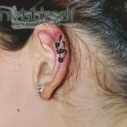 Cartilage Piercings Various INVSELF12